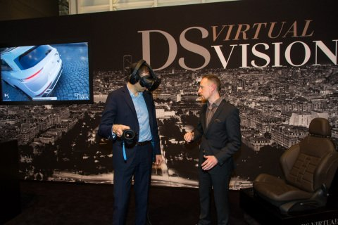 Dassault Automobiles create virtual showrooms helping customers choose new cars #VR -