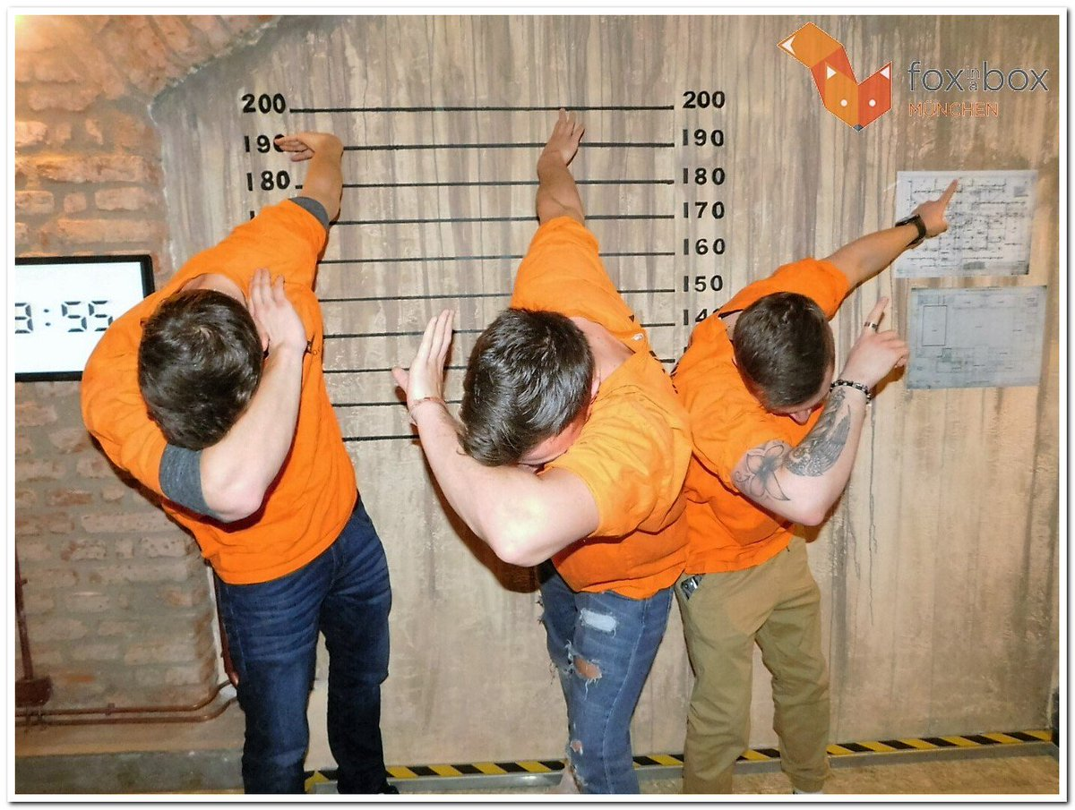 Fox In A Box Munchen On Twitter Challenge Escape Celebrate Foxinaboxprison Roomescape Foxinaboxmunich