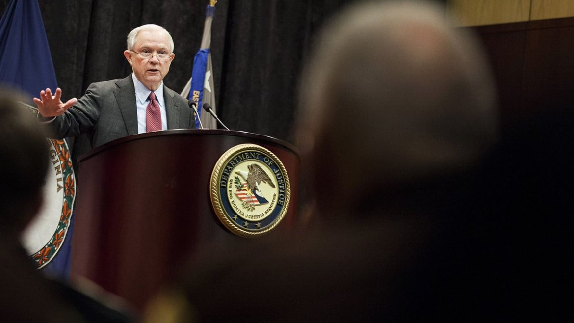Attorney general Jeff Sessions says marijuana is