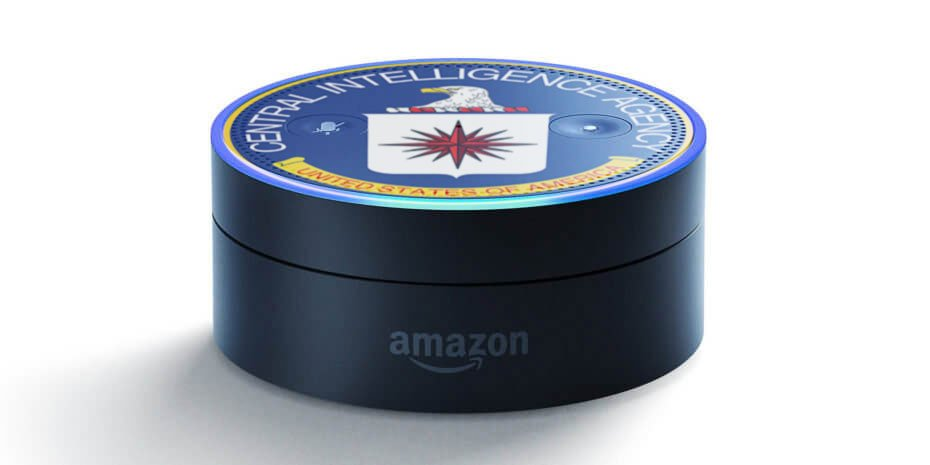 #Alexa goes strangely quiet when asked if it's connected to the #CIA  #Wikileaks #IoT