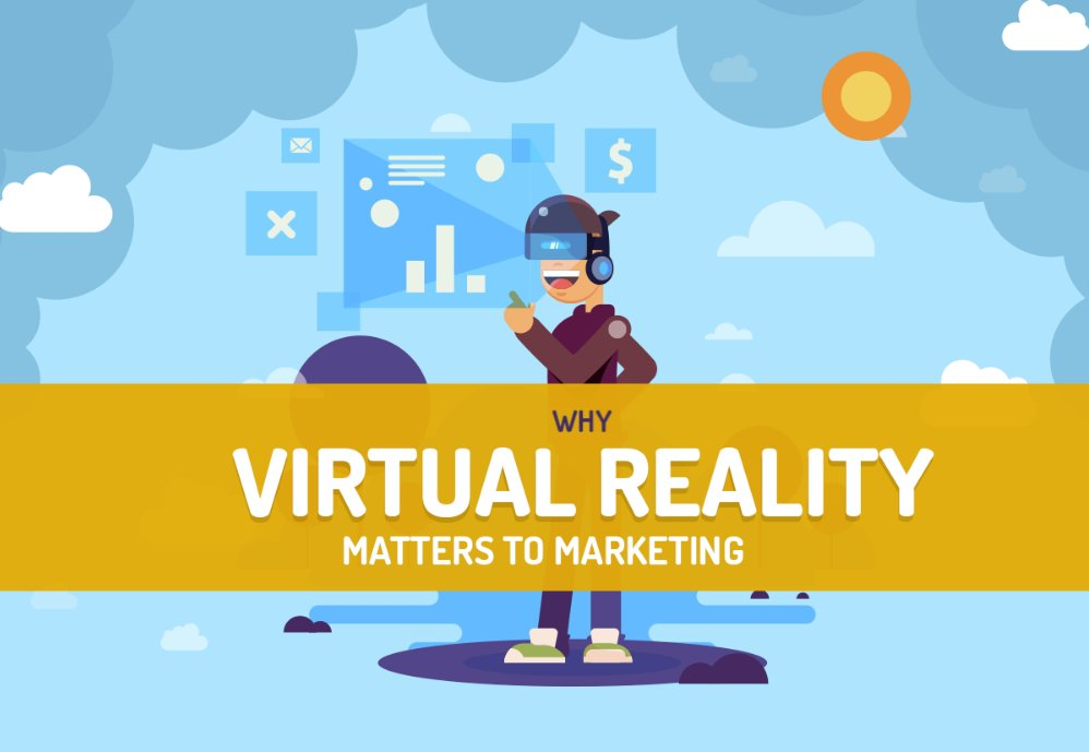 Why Virtual Reality Matters to Marketing [Infographic]  #smm