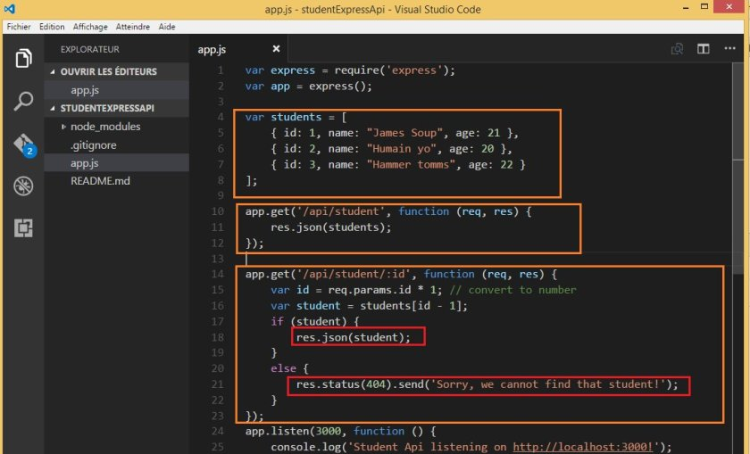 Build A Simple Web API With Expressjs and #AngularJS: