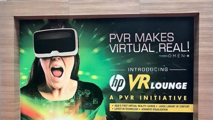 #VR comes to Indian theatres thanks to @HPIndia @PVRTHEATRES -