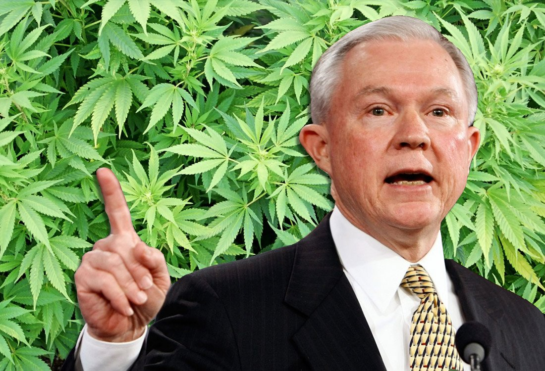 Jeff Sessions Realizes He Can't Stop Pot Legalization—And He's Mad, Bro.
