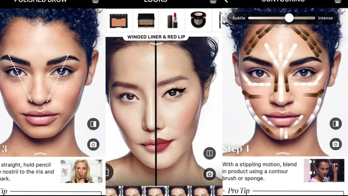 Sephora's latest app update lets you try virtual #makeup on at home with #AR