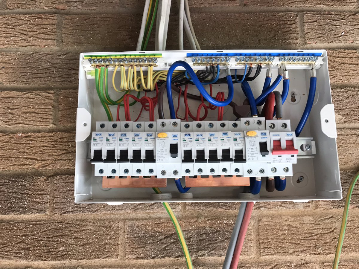 Wonderful consumer unit wiring diagram pictures inspiration the generous wiring diagram for garage consumer unit photos electrical asfbconference2016 Image collections