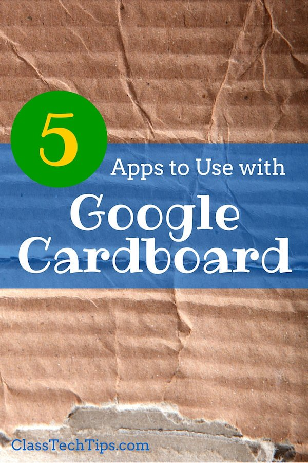 5 #Apps to Use with #GoogleCardboard | @ClassTechTips   #edtech #VR #GAFE by #ArkangelScrap