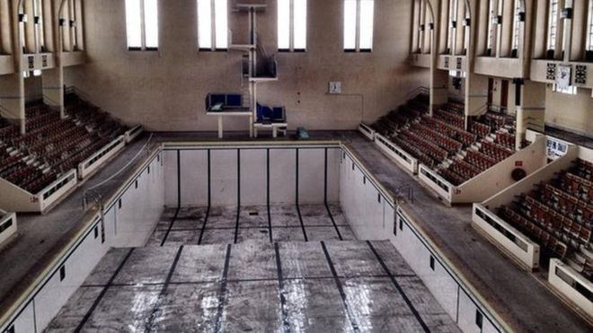 'Concrete cancer' fears over historic art deco design Bon Accord Baths in Aberdeen