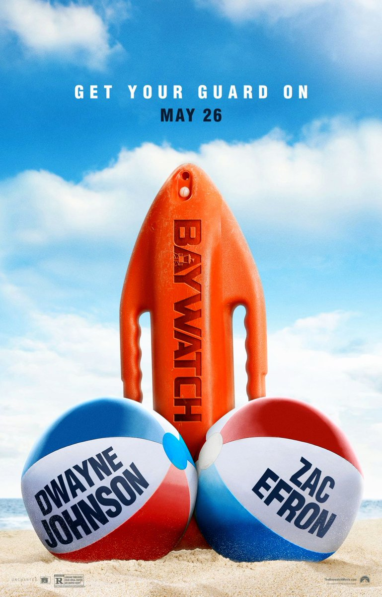 Baywatch Gets A Provocative Poster