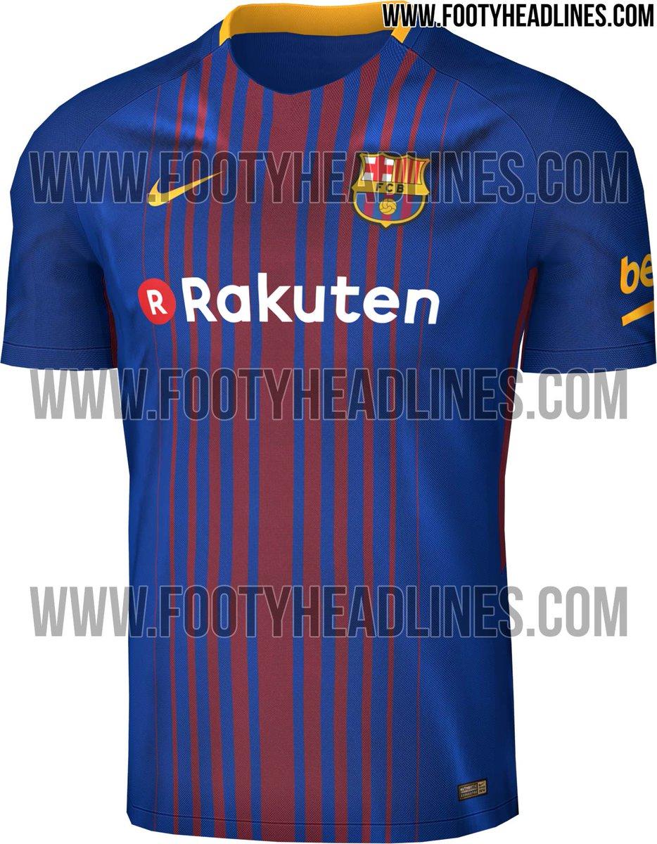 camisetas de futbol Barcelona nuevo