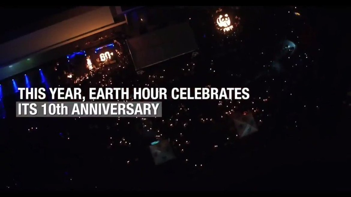 #EarthHour 2017 is today at 8:30 PM . Take part and help #ChangeClimateChange @earthhour @WWF