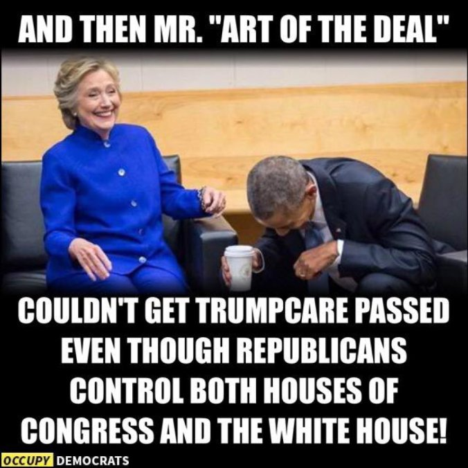 Image result for hillary obama laughing meme