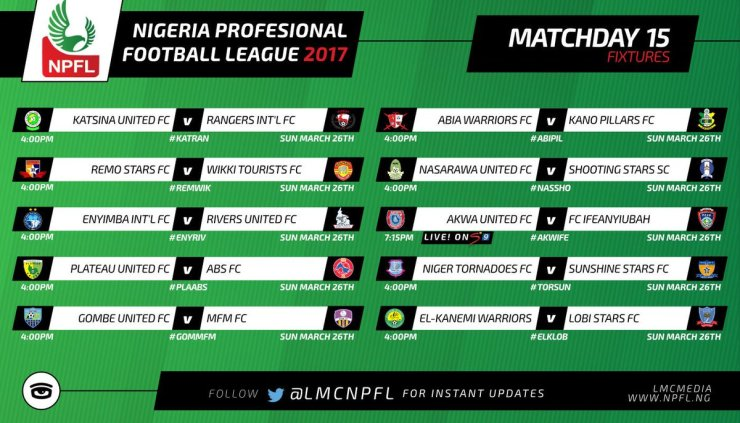 NPFL MATCHDAY 15: Plateau United Aiming To Challenge MFM For Top Spot 7