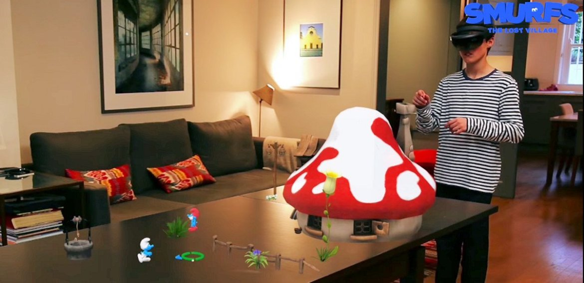 Smurfs: The Lost Village is the first big budget HoloLens game (video) -
