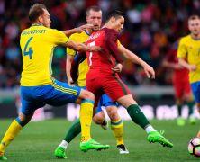 Video: Bồ Đào Nha vs Thụy Điển