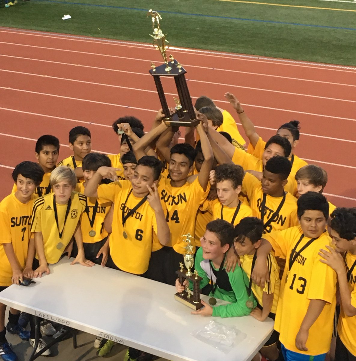 Sutton Middle School On Twitter Another Aps Championship