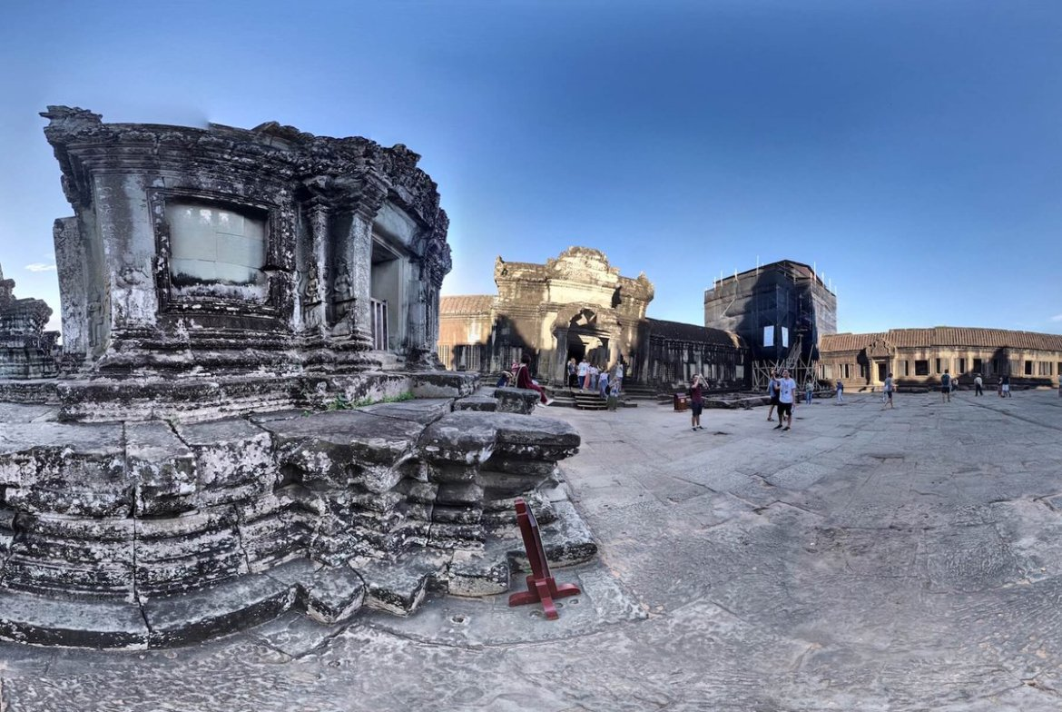 Take this virtual reality tour of Cambodia's most visited temples