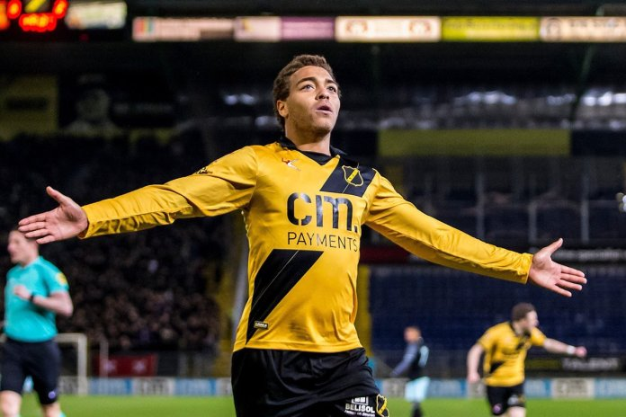 Eligible for Nigeria and Belgium's senior national team: Cyriel Dessers scored 29 goals and gave 13 assists last season for Dutch club NAC Breda