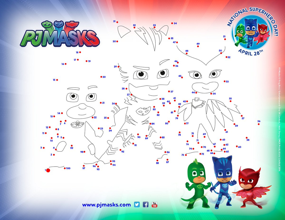 Pj Masks Us On Twitter Find This Super Activity Sheet And Other Fun Free