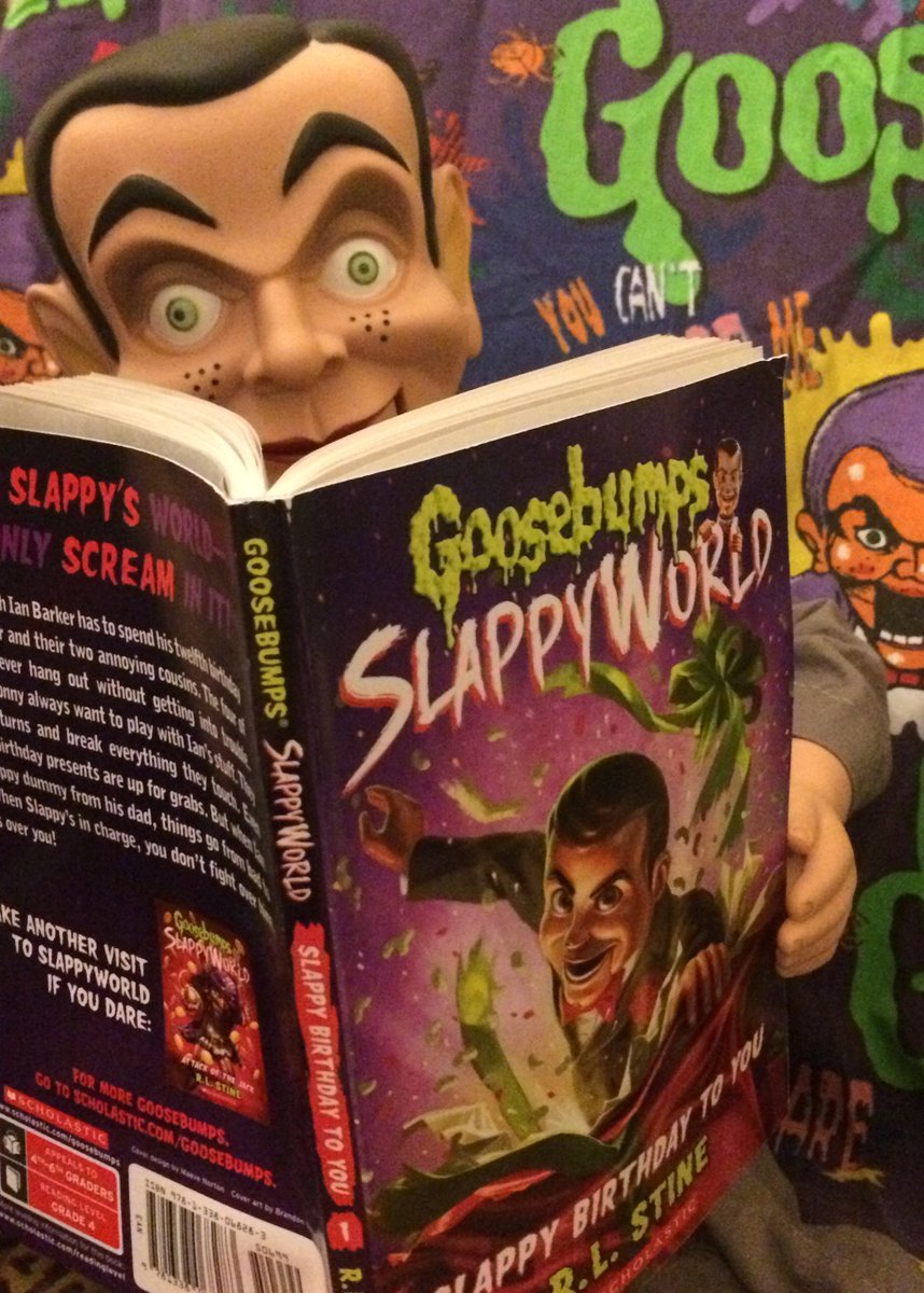 James Childs On Twitter Book Of The Month Goosebumps Slappyworld Slappy Birthday To You From Rl Stine You D Be A Dummy To Miss This Frightfully Awesome Book Https T Co 8cbbgb3irt