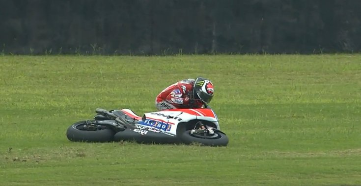 Lorenzo crash
