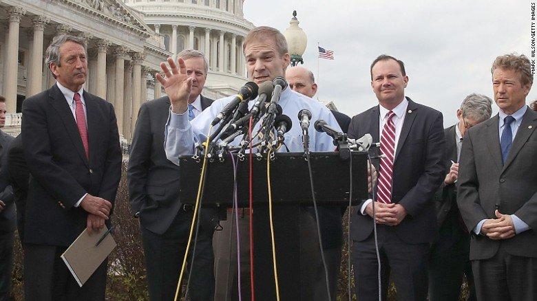 House Freedom Caucus member Rep. Jim Jordan: Tweets and blame