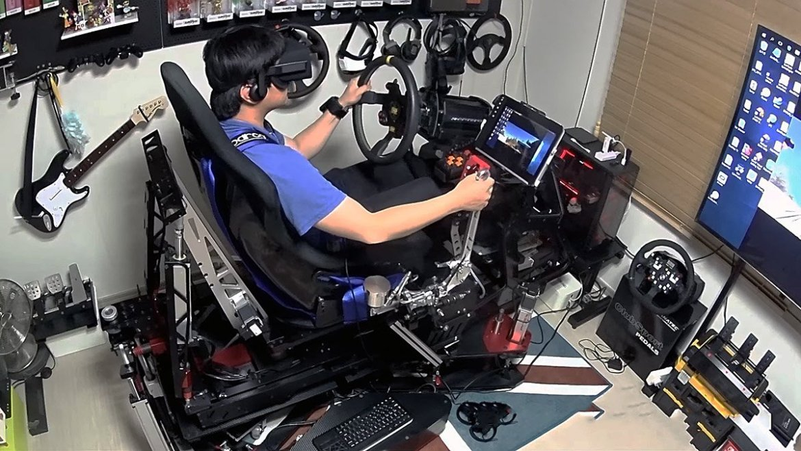 It's Ok to Be Jealous of This $25,000 VR Racing Rig, We Are Too  @dirtgame