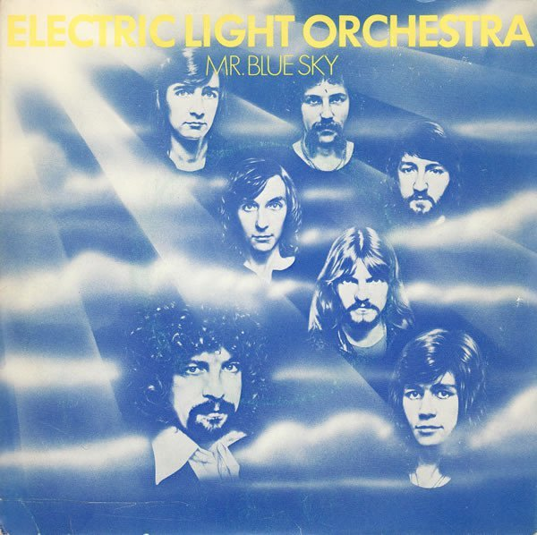 Electric Light Orchestra Out of the Blue Album Cover