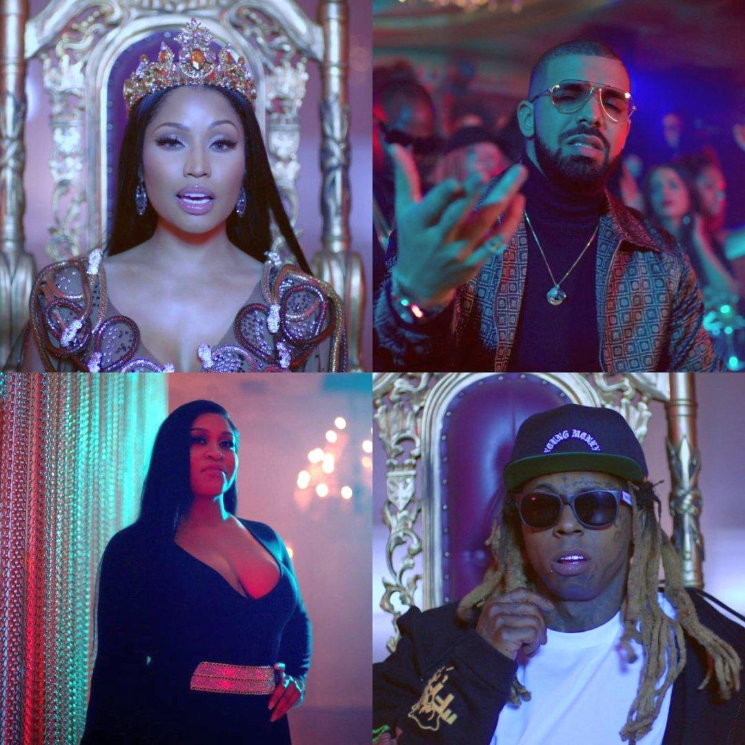 Nicki Minaj - No Frauds Music Video ft. Lil Wayne & Drake 5