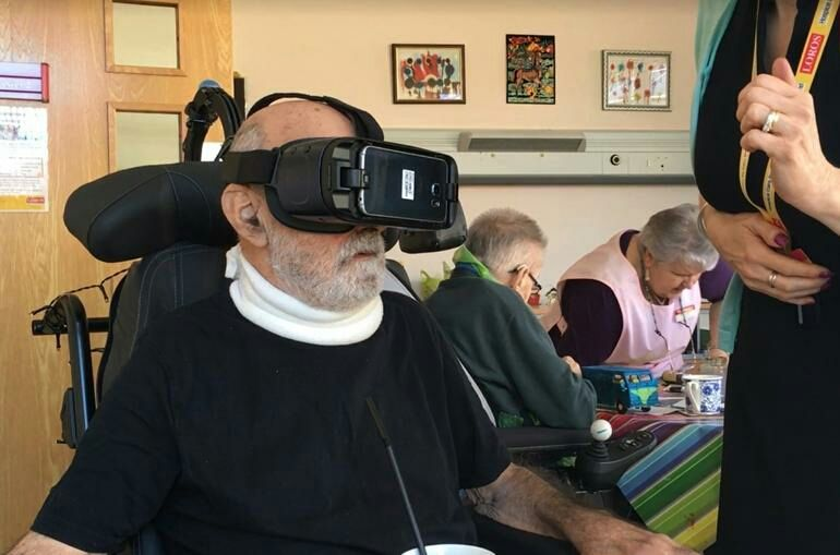 How #virtualreality is improving end-of-life care | ZDNet  #vr