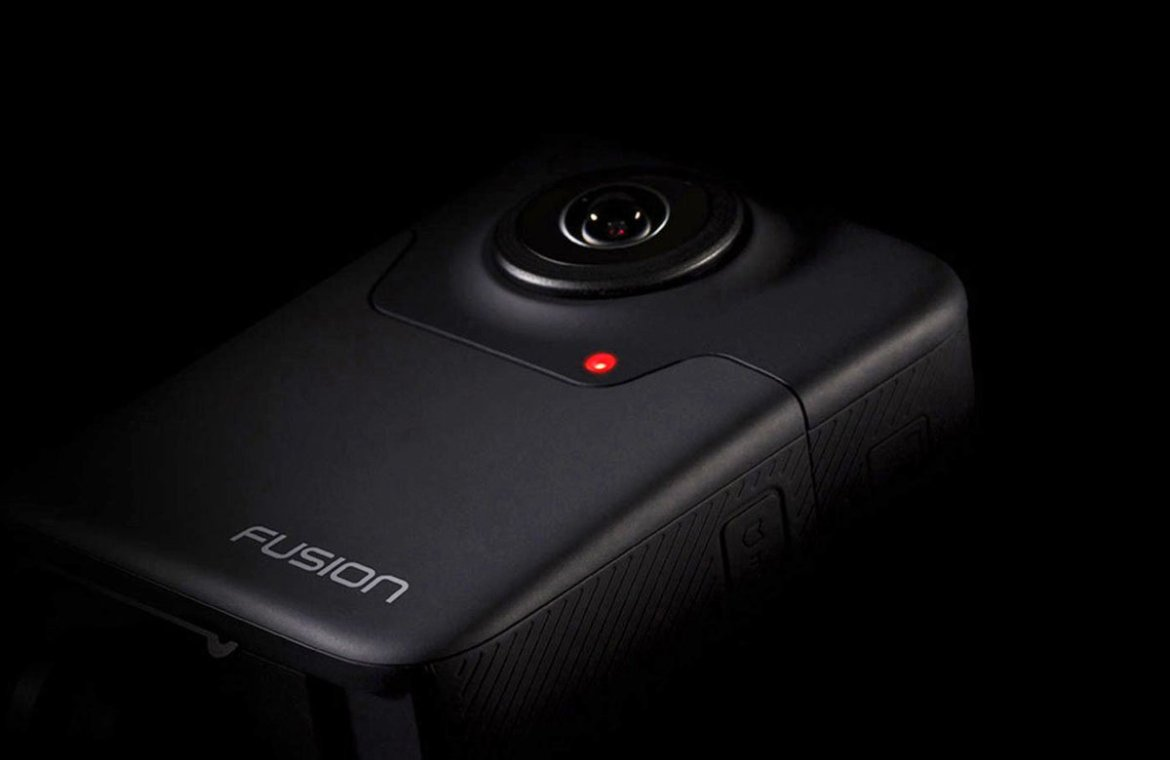 GoPro Unveils New Fusion 360° 5.2K Action Camera #VR
