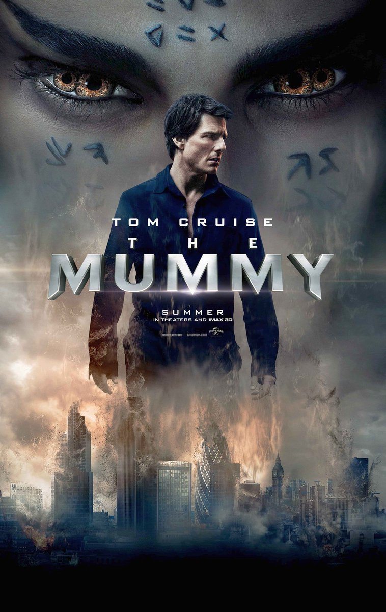New The Mummy Poster Featuring Tom Cruise & Sofia Boutella