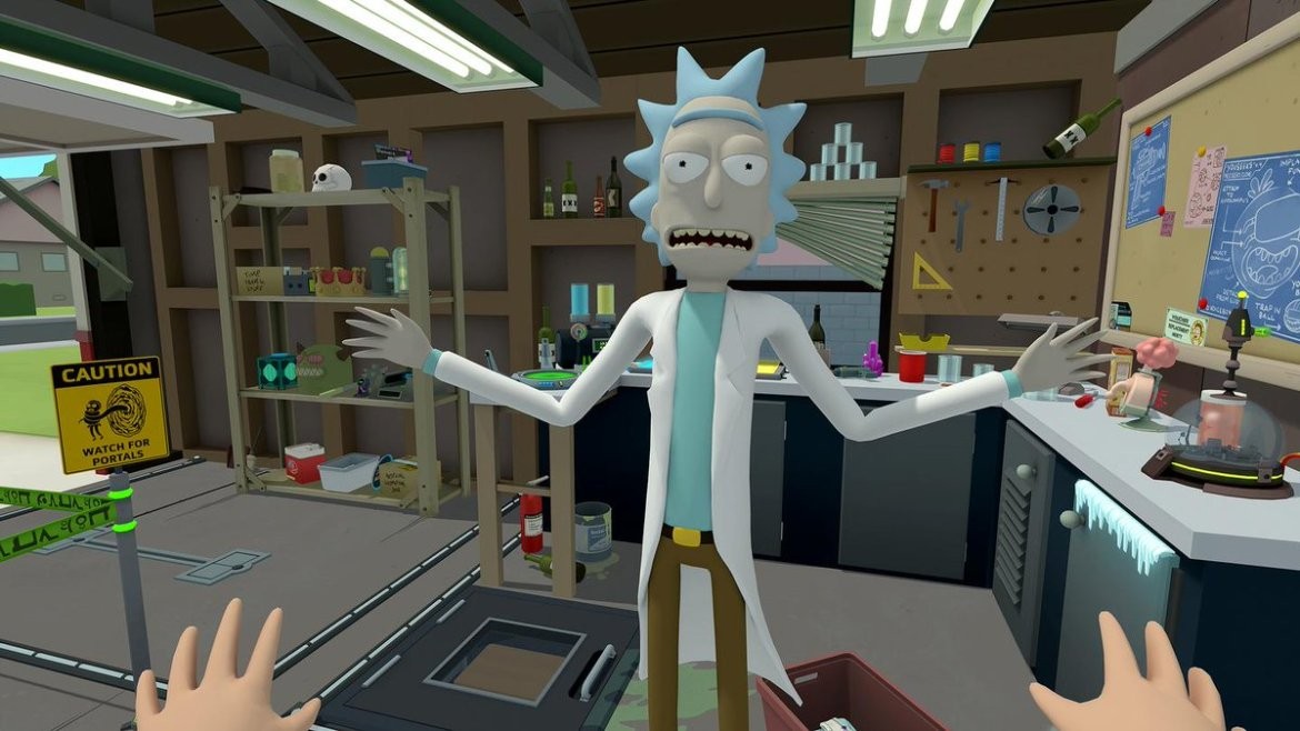 .@RickandMorty is dropping a stoneriffic virtual reality game on 4/20: