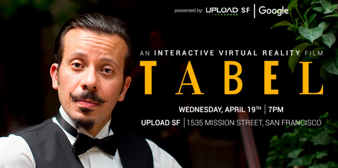 Bring some popcorn and your best mustache for a #VR movie night with @Google at @UploadSF: