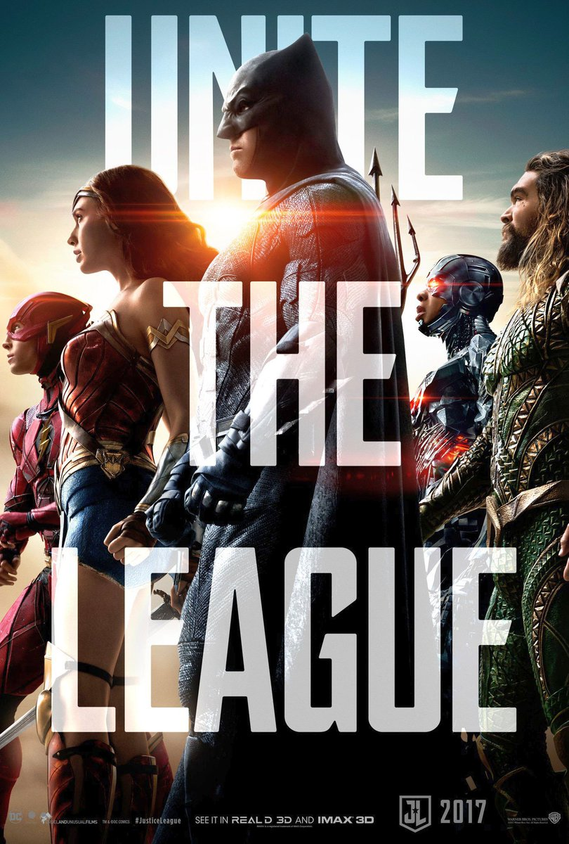 New Justice League Poster Unites The Heroes