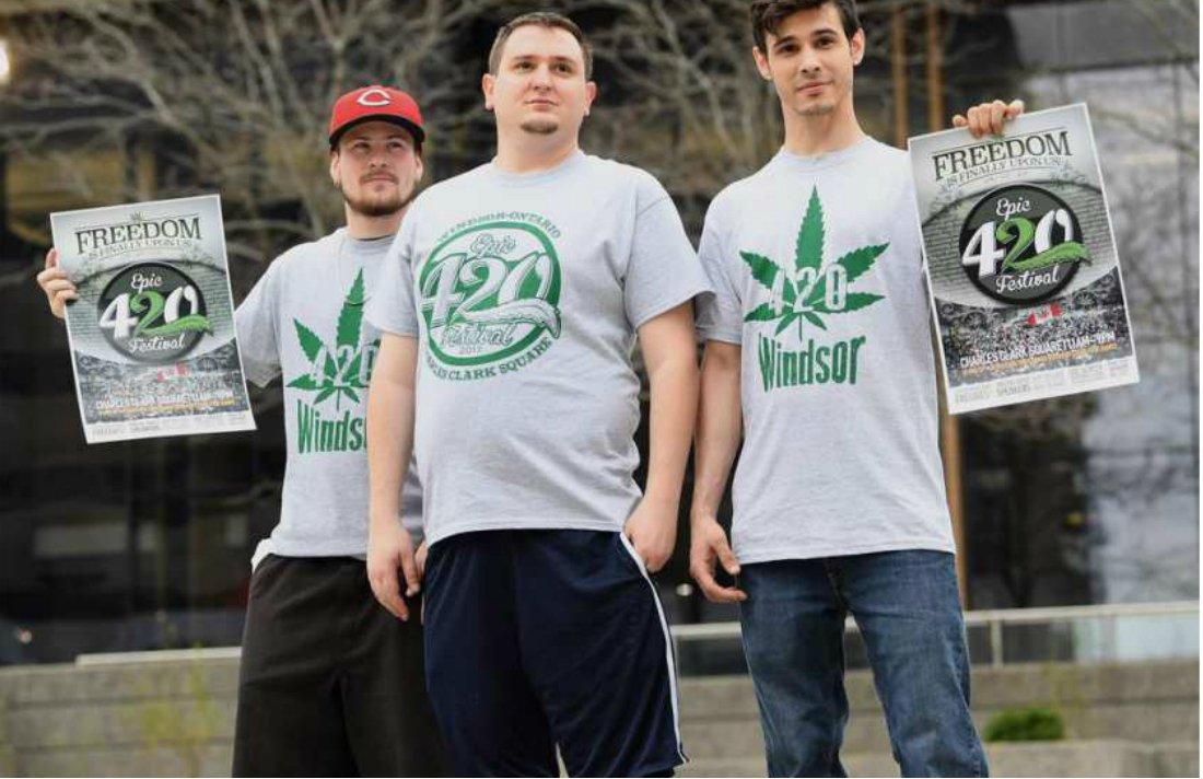 Marijuana Advocates to Celebrate '4/20' in Downtown Windsor #windsor #ontario #Canada #420