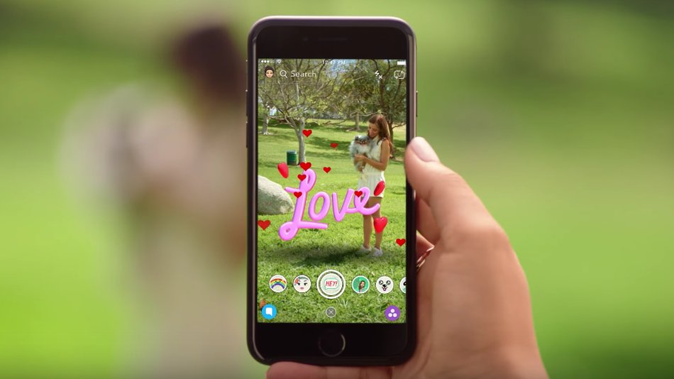 Snapchat's new world lenses are its biggest push into augmented reality