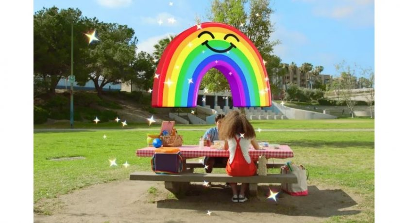 #Snapchat's #WorldLenses just raised the bar on #AugmentedReality - ! 🌈 #ar #SoSoShow