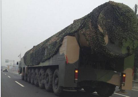 test ツイッターメディア - [DF-41 大陸間弾道ミサイル] 中国が開発中の大陸間弾道ミサイル。MIRV弾頭を搭載し射程は1万2000kmほどと予想され、米本土を射程に収めることが可能とみられる。 https://t.co/srO4RURh6b