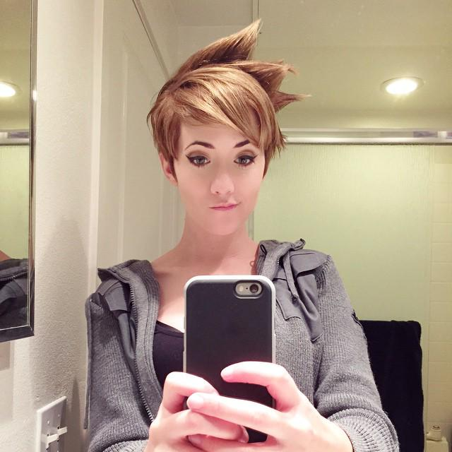 OverwatchGG On Twitter A Wonderful Tracer Haircut By