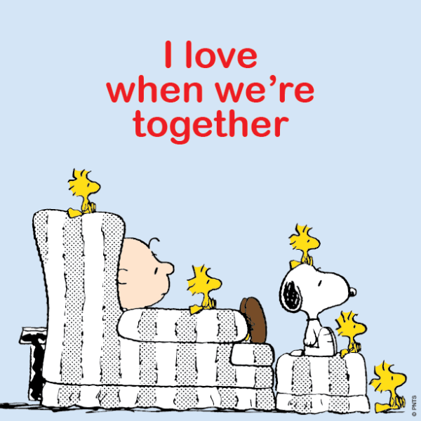 Image result for snoopy getting together