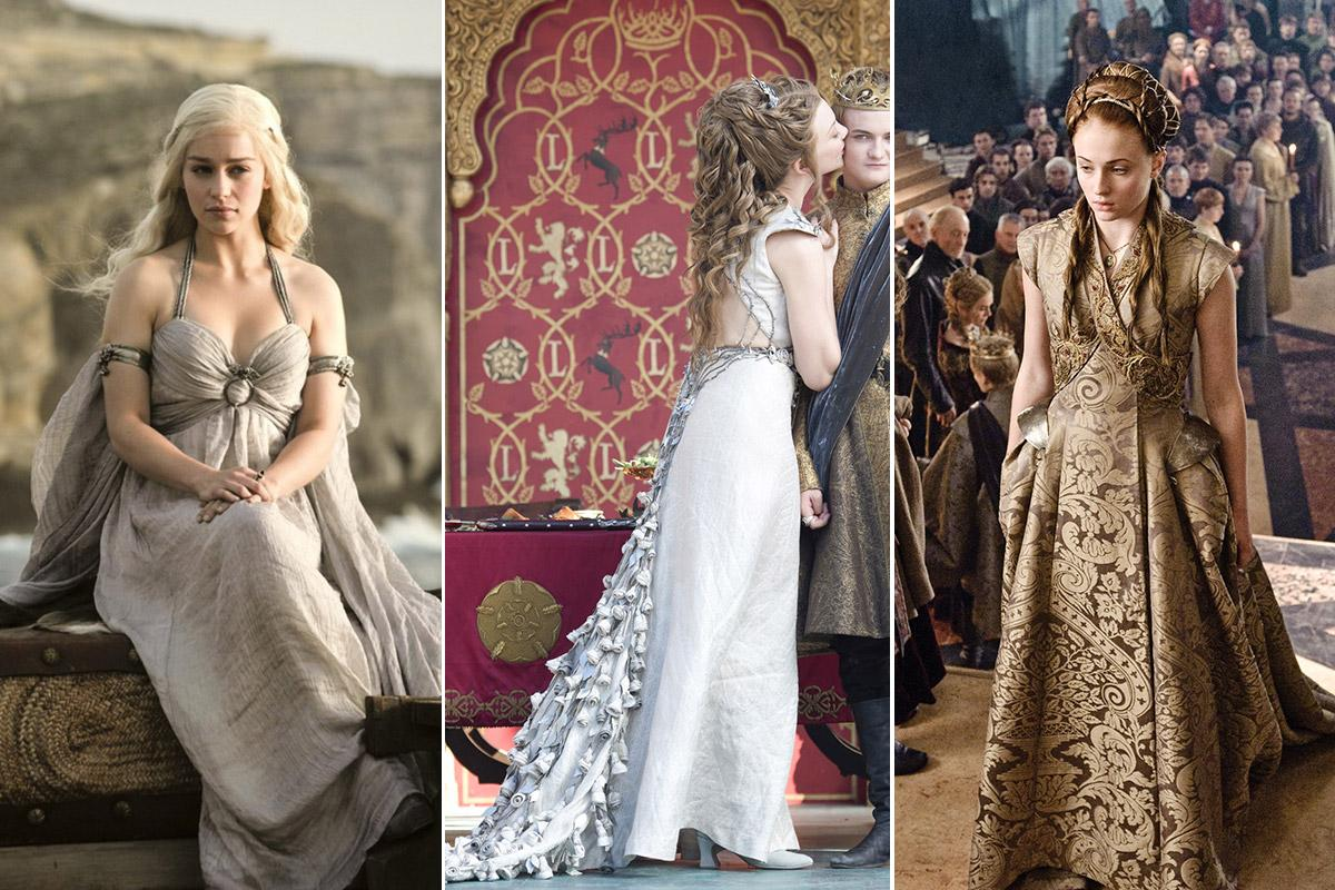 Ranking All The Game Of Thrones Wedding Dresses From Worst