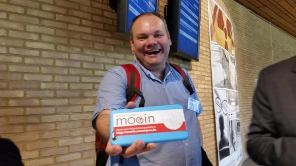 Martin Ebners iPhone ist ge-mooint