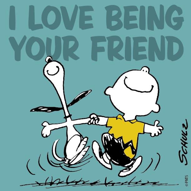 PEANUTS On Twitter I Love Being Your Friend Httptco