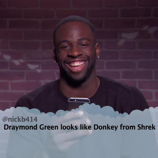 Draymond Green Looks Like Donkey From Shrek Meantweets