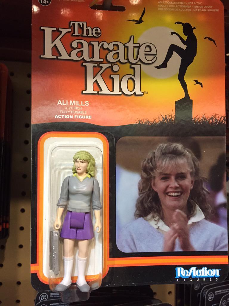 Elisabeth Shue On Twitter The Karate Kid Action Figures