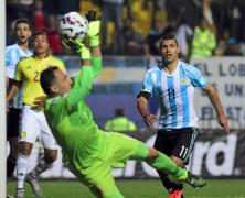 Video: Argentina vs Colombia