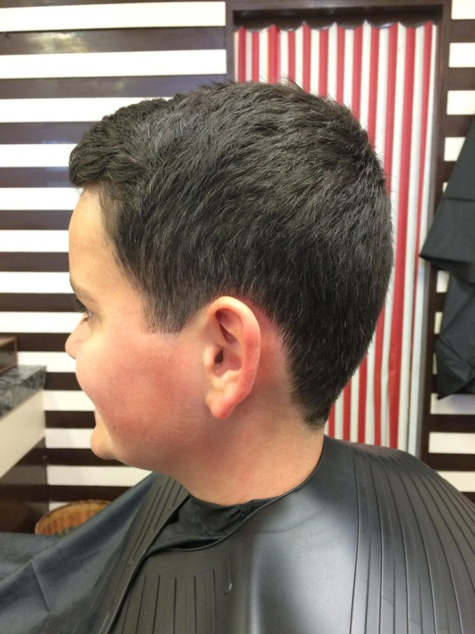 """ian james barbers on twitter: """"boy cut,short back and sides"""