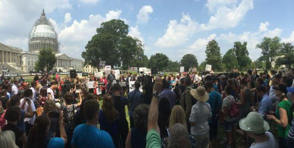 DC #WomenBetrayed Rally