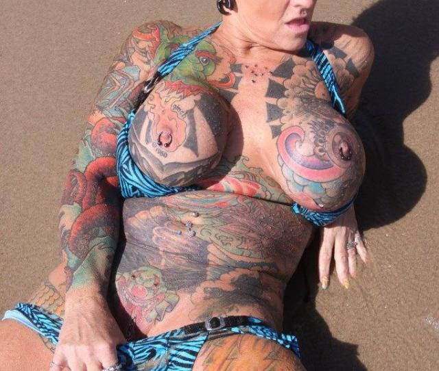 Naked Tattoo Girl On Twitter Naked Girl With Fully Tattooed Http